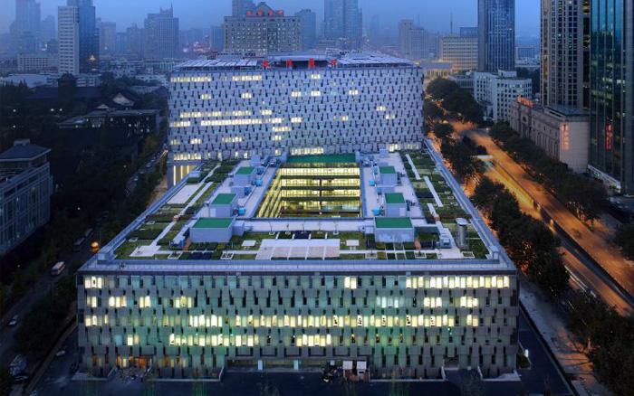 南京鼓楼医院加固改造