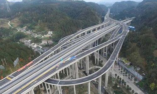 桂林北高速公路互通桥加固
